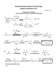 T6 - Stereocontrolled Alkylation and Related Strategies (Ans)
