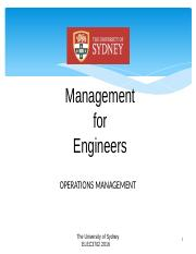 Lecture 06 Operations Management NN