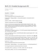 BUS 211 Graded Assignment 2 SOLUTION.docx