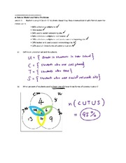 3.4 Applications of Set Theory