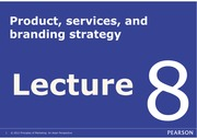 BUS10311(2014-15A) Lecture 8 Product and Service (By Bernard) - Student version