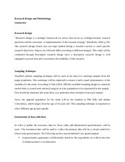 Research Design and Methodology Amended.docx