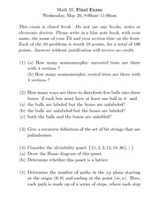 Berkeley MATH 55 Final with Solutions