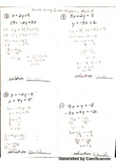 Algebraic Method