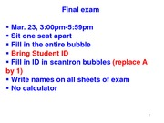 CHEM114B - Lecture 25
