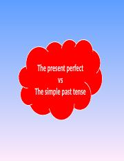 present perfect vs past tense.ppt