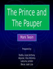 The Prince and The Pauper.pptx