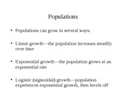 Lecture 16-Populations 2