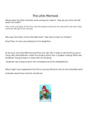 The Little Mermaid Questions.doc