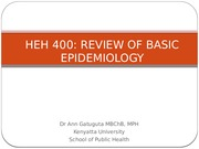 HEH 400 Lecture 1_Review of Basic Epidemiology