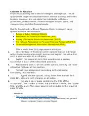 careers in finance paper guidelines and submission.docx