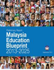 Preliminary blueprint english malaysia education blueprint 2013 this is the end of the preview sign up to access the rest of the document unformatted text preview malaysia education blueprint 2013 malvernweather Image collections