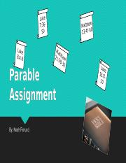 Parable Assignment.pptx