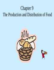Ch9-TheProduction&DistributionofFood10thedition