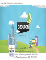 Groupon Analysis