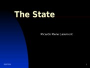 Lecture 2- The State