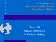PPT Presentation - Chapter 10