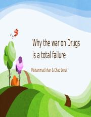 Why the war on Drugs is a total failure.pptx
