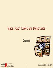 07-Maps Hash Tables and Dictionaries