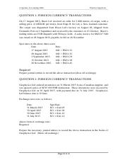 Topic 4 Foreign Currency Translation - Review Questions.docx