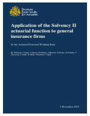 Actuarial Function Working Party paper-2