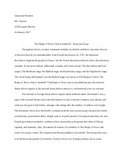 French Revoultion Essay - Cheyenne Predium.docx