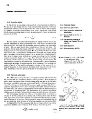 Feynman Physics Lectures V2 Ch11 1962-11-05 Inside Dielectrics