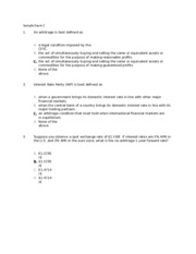 Sample Exam 2