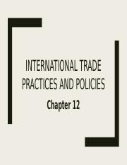 INTERNATIONAL TRADE PRACTICES AND POLICIES.pptx