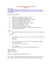 Tables is the units for this ratio 2 If the height of this ...
