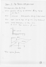 Math 570 Stage Dynamics Notes