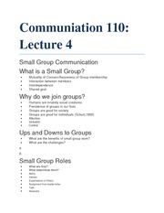 Group Communication Notes