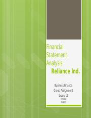 Reliance _ Group 12-formatted.pptx