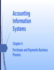 L07 Purchase and Payment Business Process