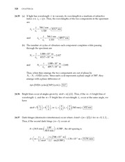 26_Ch 24 College Physics ProblemCH24 Wave Optics