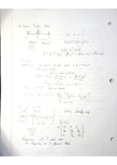 Linear TriAtomic model notes