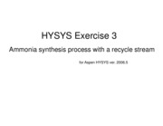 HYSYSExercise3NH3