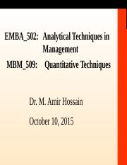 EMBA502&MBM509_Day3