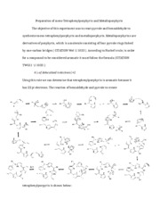 6 Pages Post Lab 9 Orgo 2