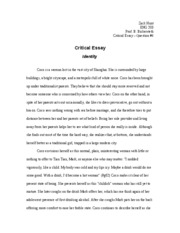 ENG 203 : SWS World Literature - GVSU - Course Hero