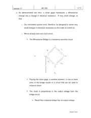 Strain Gage Notes