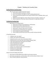Ch. 7 Notes