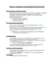 Week 3- Probability and Probability Distributions.docx