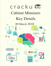 List of Cabinet ministers of India 2017 PDF.pdf