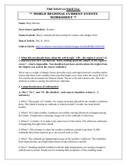 World Regional Article Worksheet (South Asia).docx