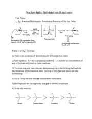 Handouts for substituton and elimination reactions-1