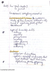 Chapter 2 Biology Notes