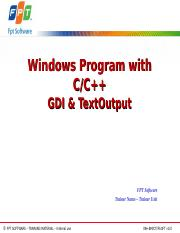 Lesson04.2_GDI and TextOutput.ppt