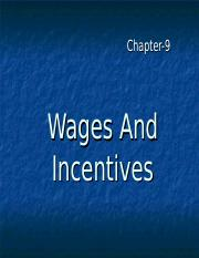 Wages and Incentives.ppt