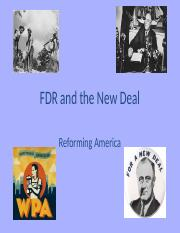 Week 9 FDR and the New Deal